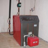Εγκατάσταση Λέβητ & καυστήρα Φ.Α